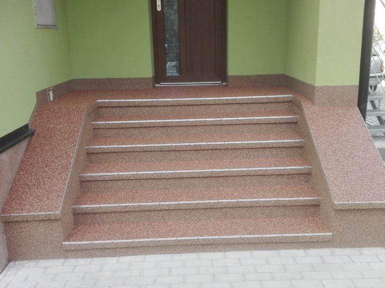 Výstavba schodů 1
