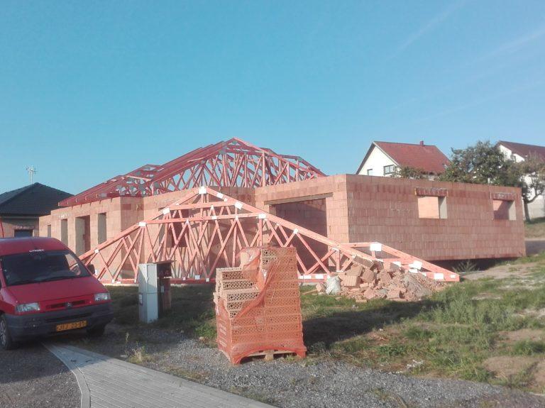 Hrubá stavba domu 1